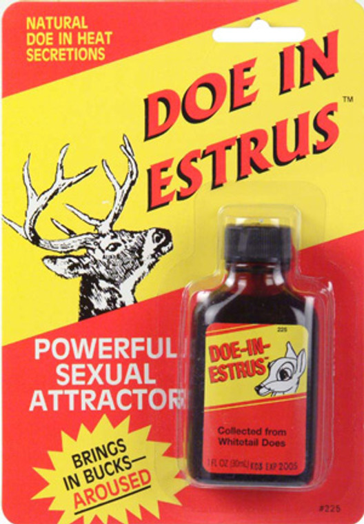 Wildlife Research Doe In Estrus Hunting Attractor Scent