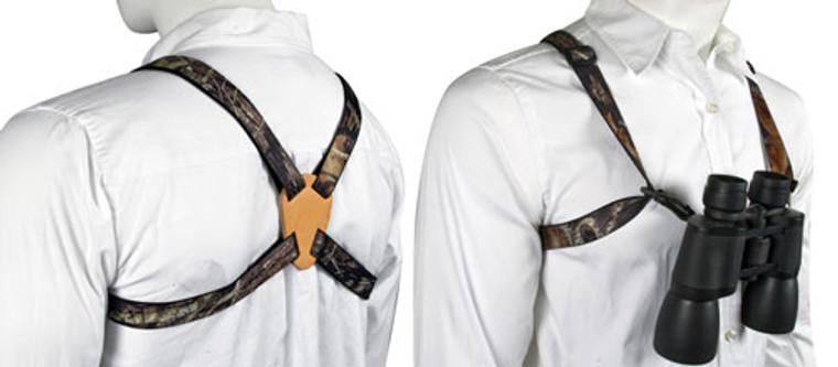 Mossy Oak Breakup Deluxe Binocular Strap/Harness