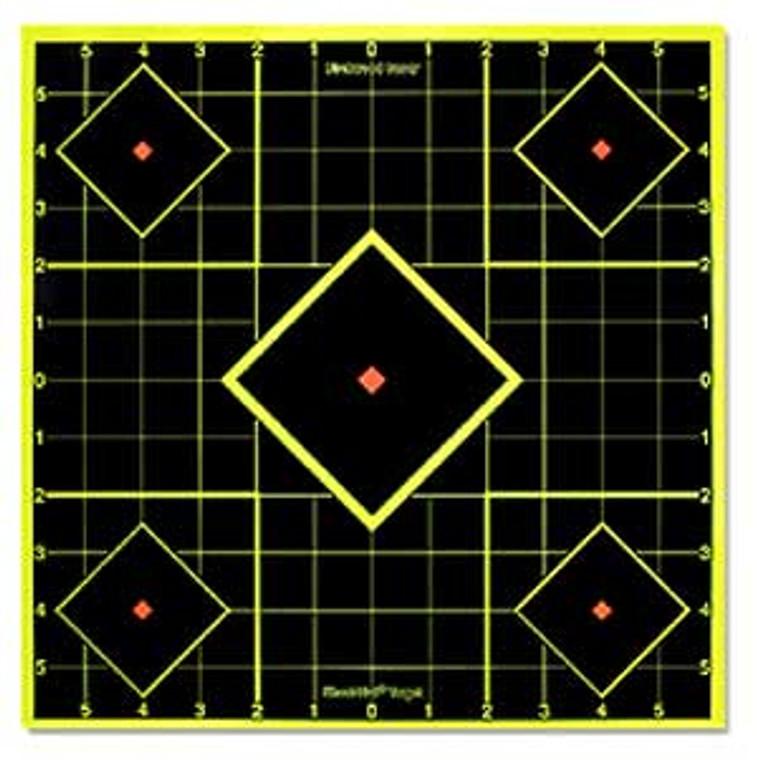 "8"" Shoot N C Targets - Birchwood Casey SI-6 Pack - 34105"