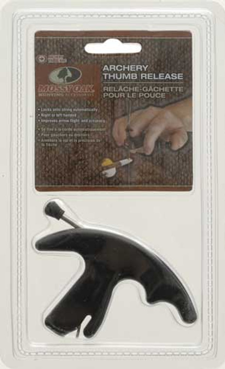 Mossy Oak 3 Finger Release with Thumb Trigger