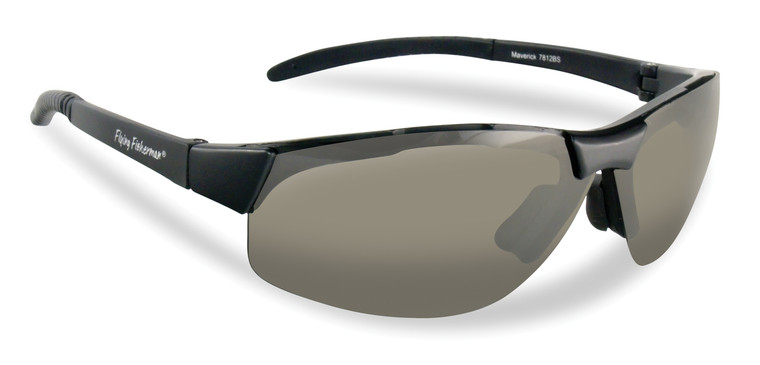 Flying Fisherman Maverick Matte Black/Smoke Sunglasses 7812BS