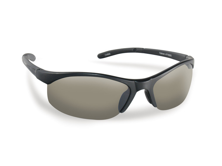 Flying Fisherman Fathom Matte Black / Smoke Sunglasses 7793BS