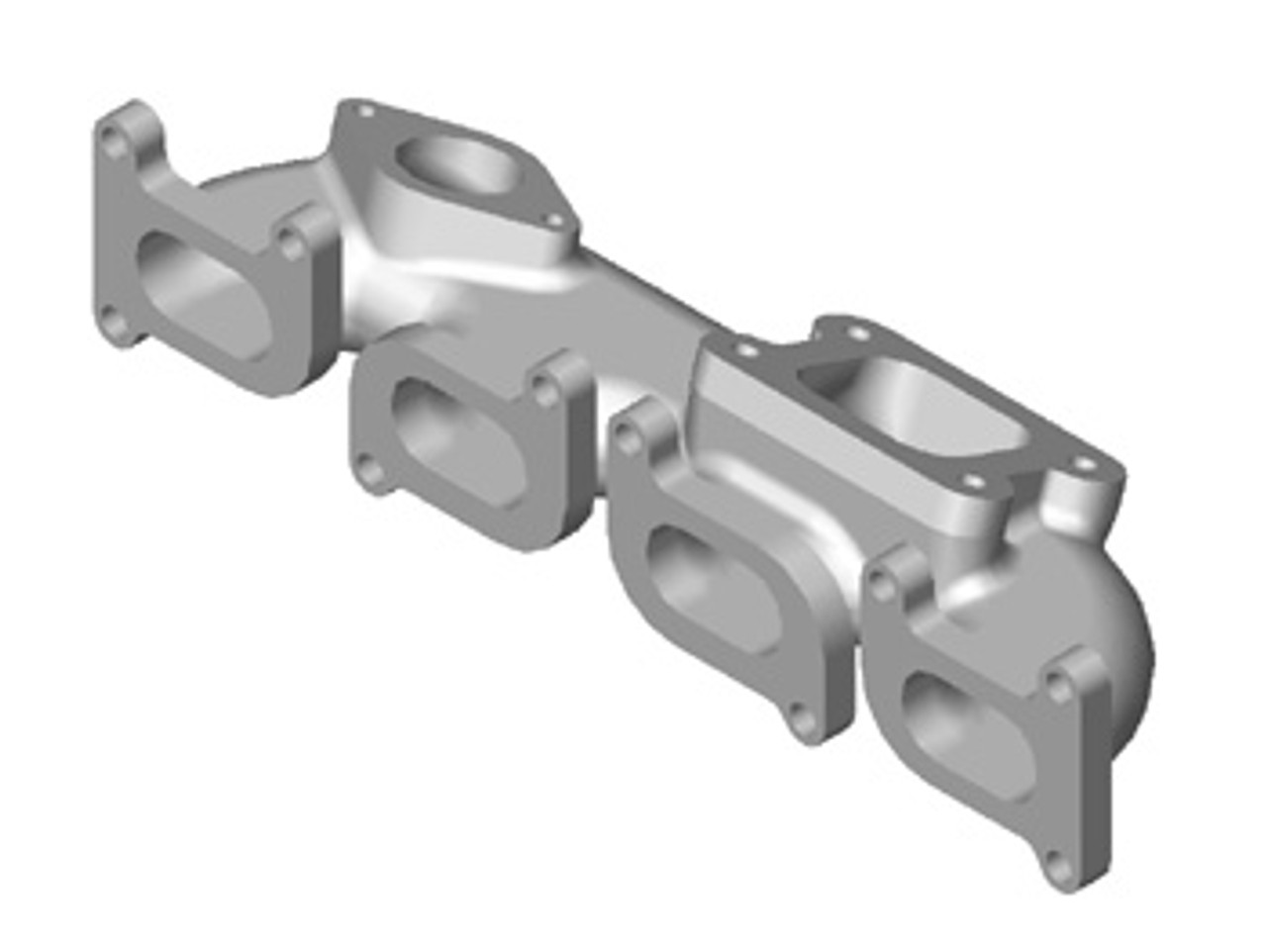 SRT-4 AGP Cast T3 Manifold