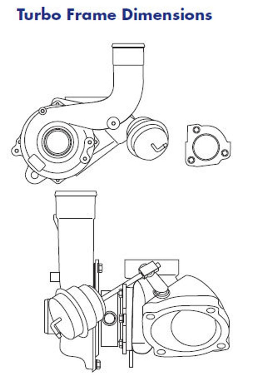 K04-01 Factory Upgrade 53049500001 Genuine Borg Warner