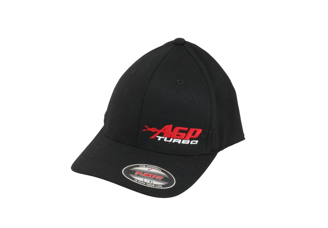 AGP Turbo Black Flexfit Hat