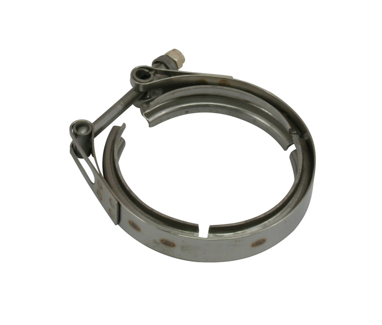 """4.28"""" V-Band Outlet Clamp for Precision T4 Style V-Band In / Out Housing"""