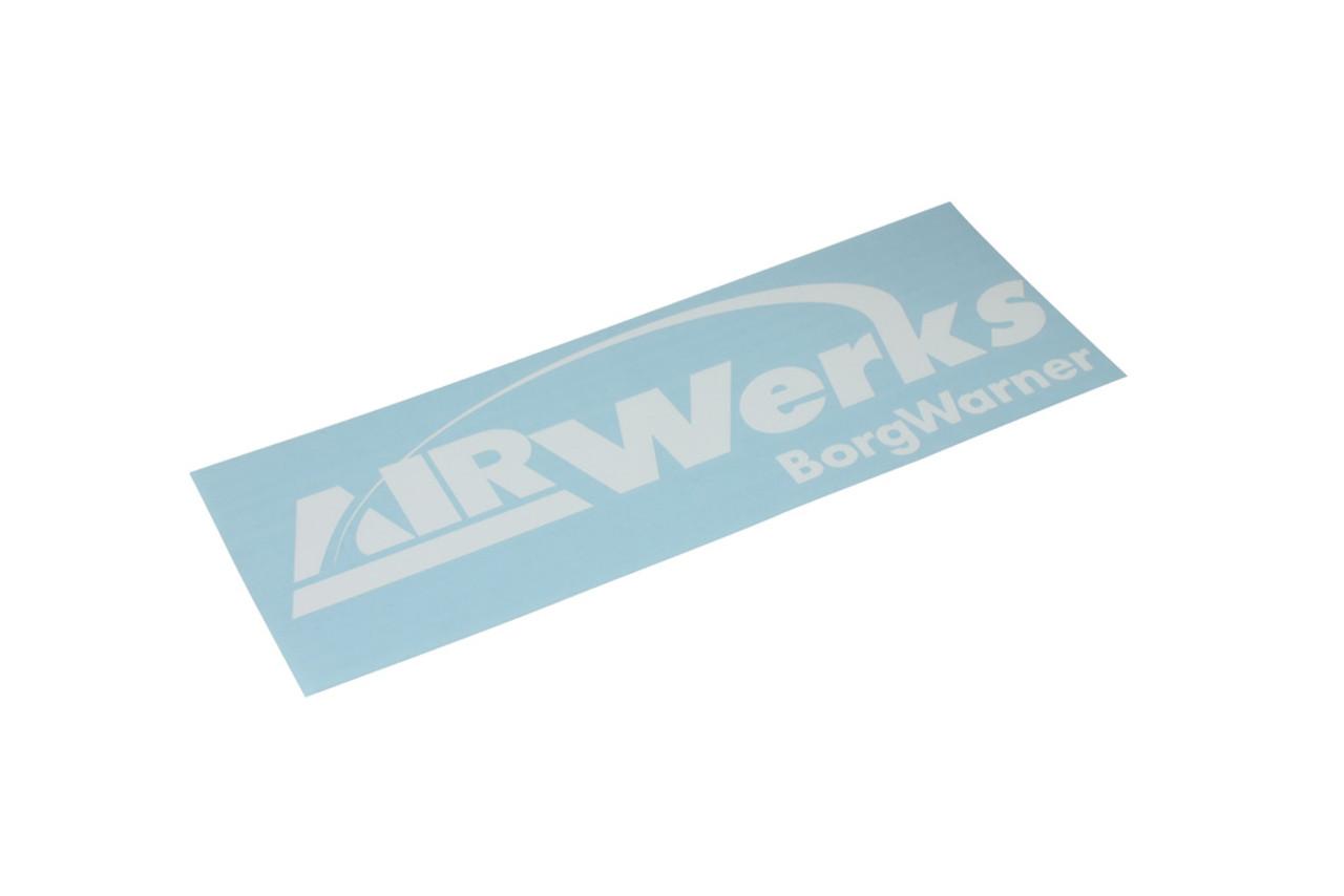 """Airwerks Sticker White 12"""""""