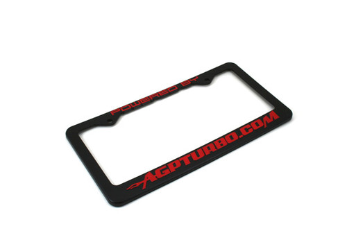 AGP License Plate Frame Red