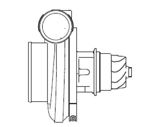 Borg Warner S500SX Super Core