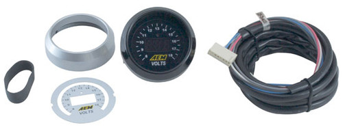 AEM Digital Voltmeter Gauge