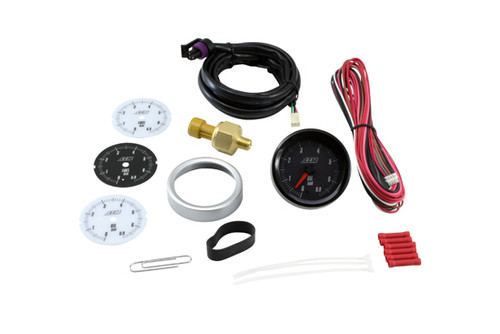 AEM Analog Oil Pressure Gauge 0-6.9bar