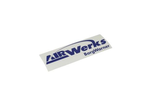 """Airwerks Sticker Blue 8"""""""