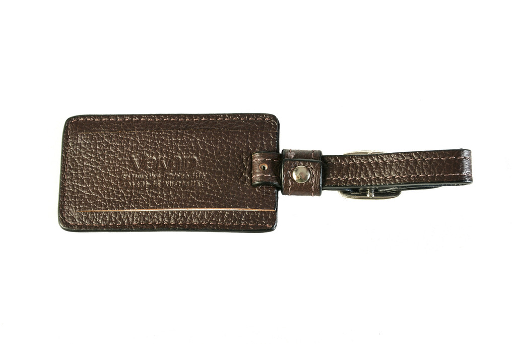 Luggage Tag - Brown