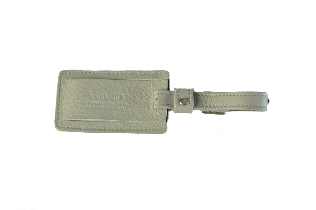 Luggage Tag - Blue Grey