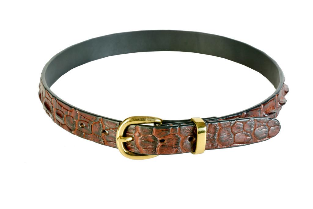 Hornback Belt - Tan