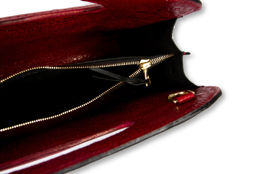 Evening Bag - Red and Black