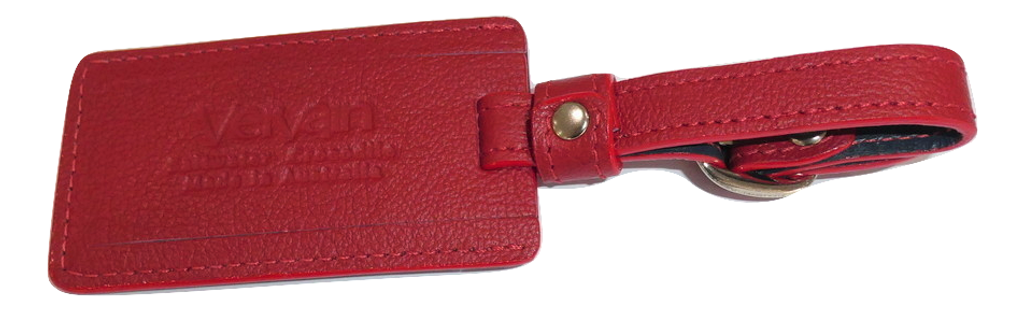Luggage Tag - Red