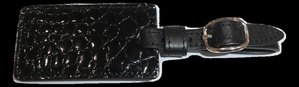 Luggage Tag - Black