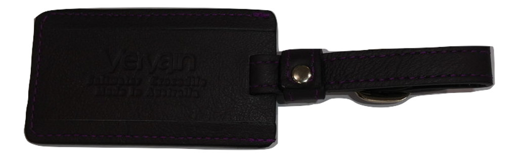 Luggage Tag - Purple