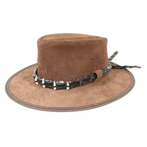 Crocodile Hatband with Teeth