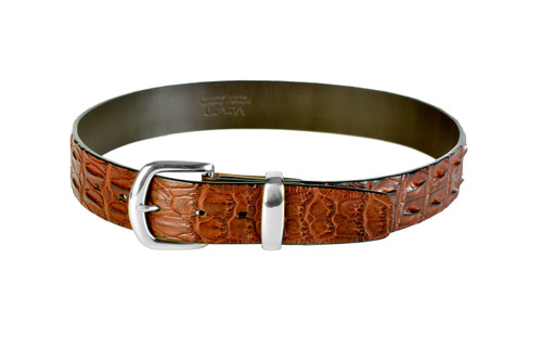 Double Hornback Belt - Tan