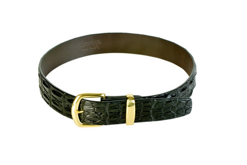 Double Hornback Belt - Black