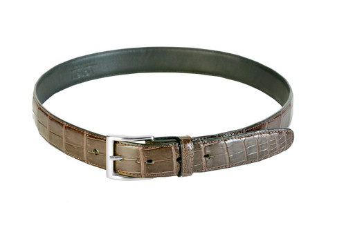 Belly Skin Belt - Tan