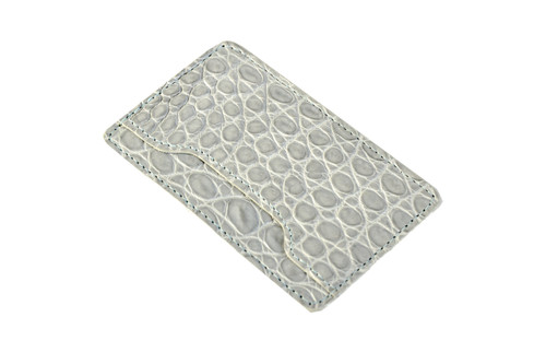 Notched Card Holder - Blue Grey