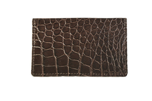 Standard Card Holder - Brown