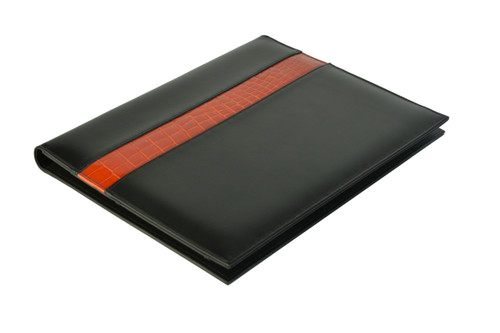 A4 Compendium - Orange