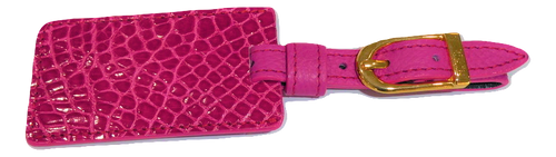 Luggage Tag - Dark Pink