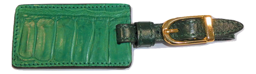 Luggage Tag - Emerald