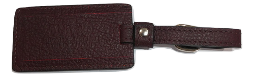 Luggage Tag - Burgundy