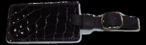 Luggage Tag - Purple