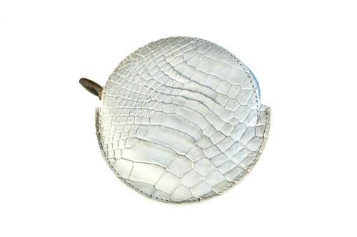 Coin Purse Full Croc | Pastel