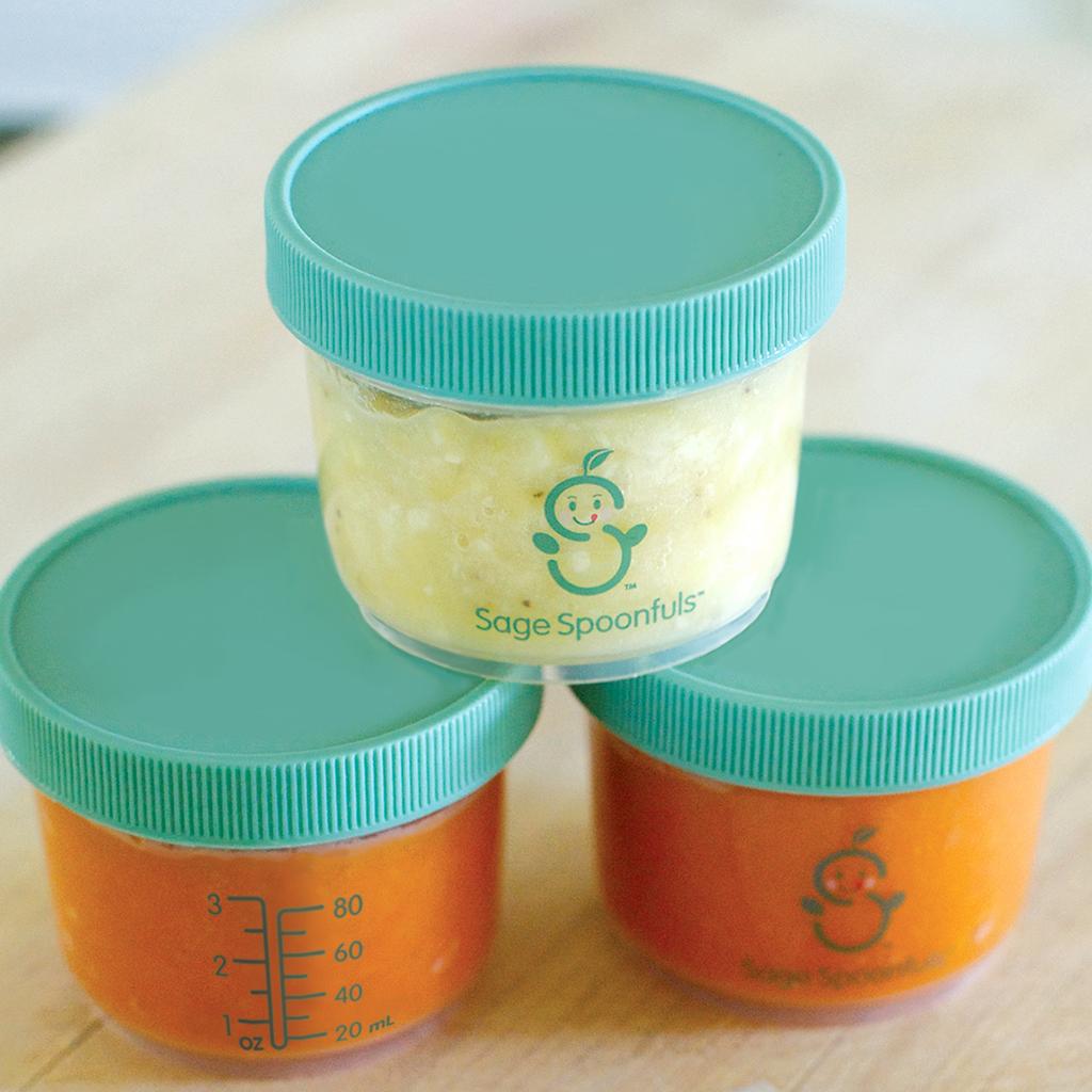 Baby Food Storage Jars - 3 Pack