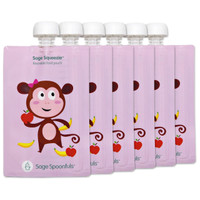 Sage Squeezie Monkey 6 Pack