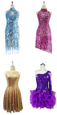 4 or More Sequin Dress Set 1 (SD2019-007)