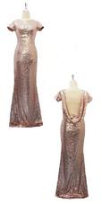 Duo Sequin Dress Set 7(SD2019-023)