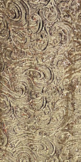 In-Stock Long Gold Baroque Sequin Fabric Gown (L2020-0031) SIZE: US 18 / UK 20 / EUR 50 (Measurements are shown as inches) BUST: 45 WAIST: 38 HIPS: 48 G: 20 (mid top of shoulder to waist) H Length: 63