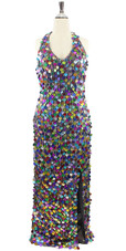 Long Handmade Multi-Colour Hanging Gown (2020-007)