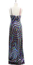Long Handmade Dress In 8mm 6 Color Sequin Dress
