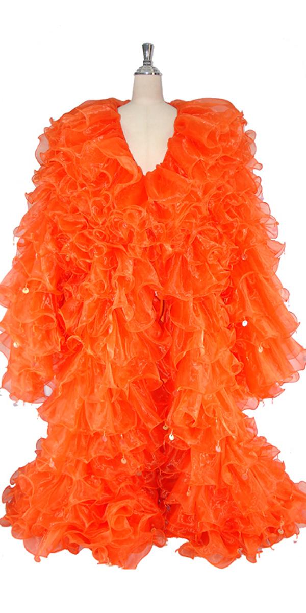 sequinqueen-orange-ruffle-coat-front-or1-1601-002.jpg