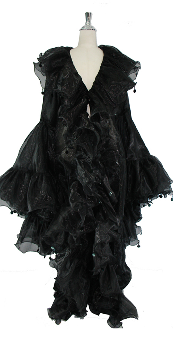 sequinqueen-short-black-ruffle-coat-front-or1-1602-004.jpg