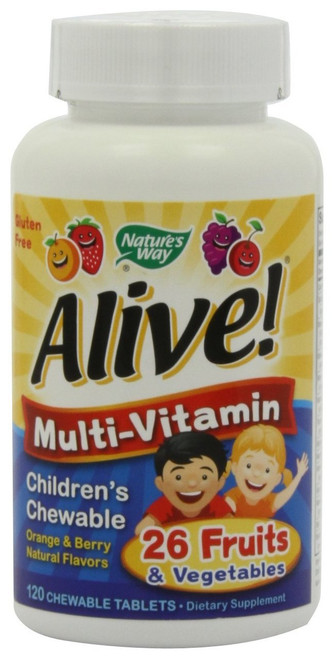 ALIVE Children's Chewable 120
