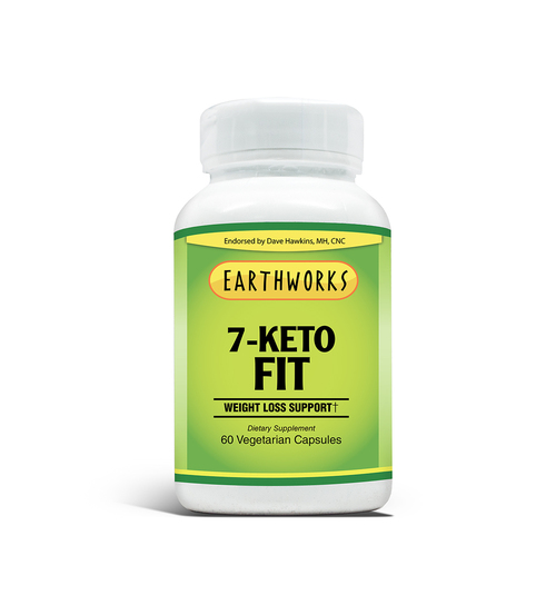 Dave Hawkins' EarthWorks EW Clean Fit 7-Keto FIT Vcaps 60