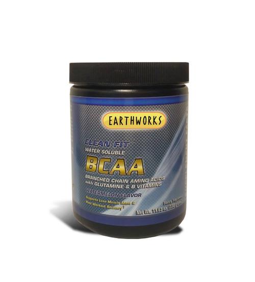 Dave Hawkins' EarthWorks EW Clean Fit Bcaa Branch Chain Amino Acids - 330 Gm