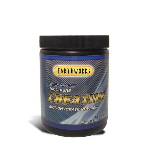 Dave Hawkins' EarthWorks EW Clean Fit Creatine Monohydrate 400 GR PWD