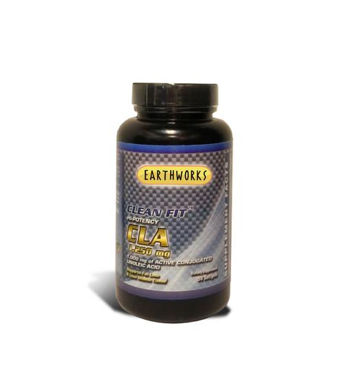 Dave Hawkins' EarthWorks EW Clean Fit HI Potency CLA 1,250 mg 90 SGEL