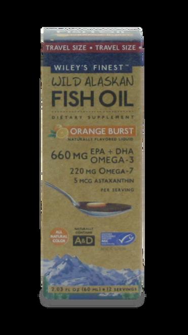 Orange Burst Fish Oil 660 MG travel 2.03 oz
